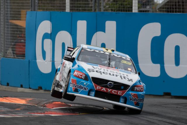 On two wheels... Scott McLaughlin at the Gold Coast 600