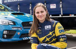 Subaru do Motorsport driver Molly Taylor