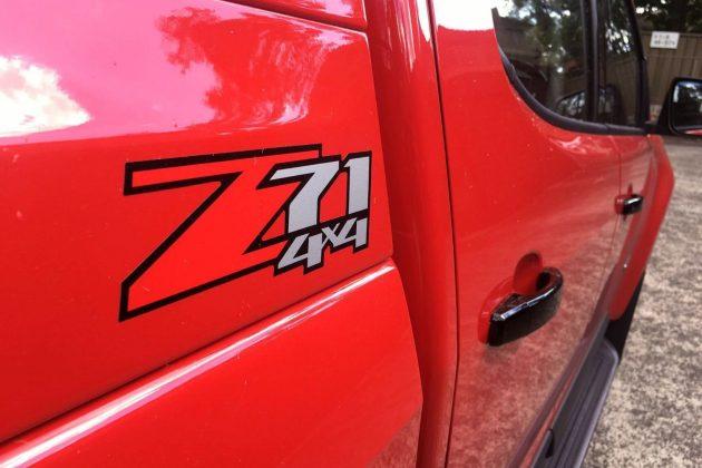 2017 Holden Colorado Z71