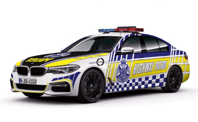 2018 BMW 530d Victoria Police Highway Patrol