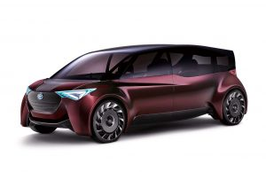 Toyota Fine Comfort Ride concept vehicle