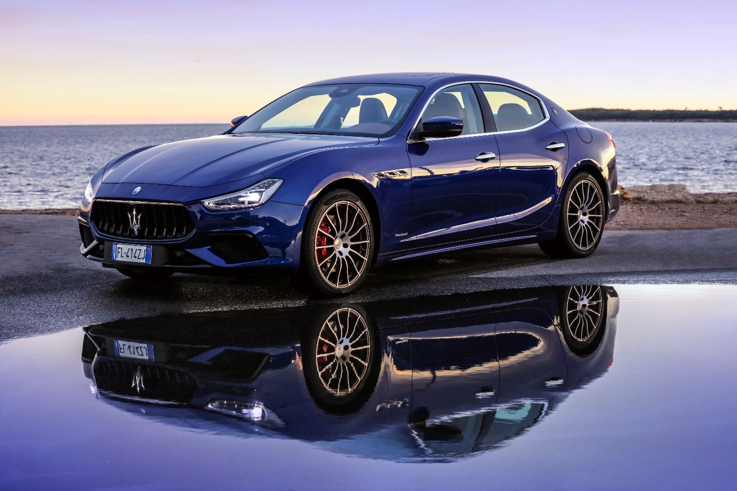 Maserati boosts Ghibli styling and performance for 2018