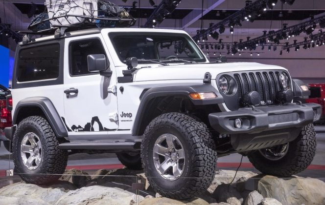 Jeep loads up 2018 Wrangler with technology