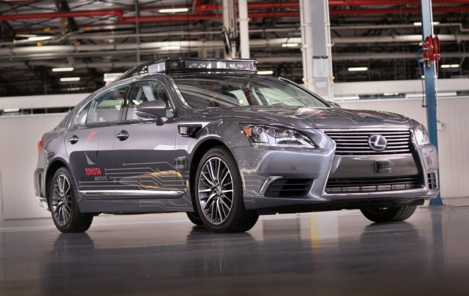 Toyota Research Institute converts Lexus to automated test bed
