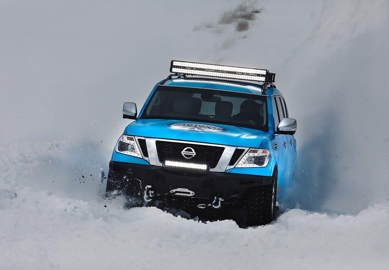 Nissan Armada Snow Patrol 2018 Chicago Auto Show