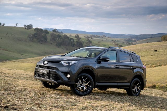 The 2020 Toyota RAV4 was the number one selling car in July