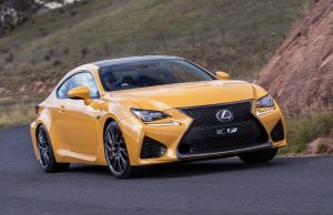 2018 Lexus RC F (Zinnia Yellow)