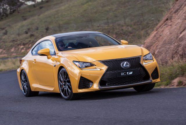 2018 Lexus RC F (Zinnia Yellow)