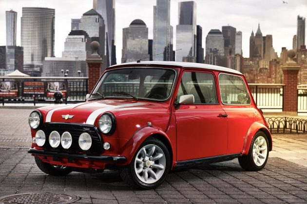 All-Electric Classic Mini Concept
