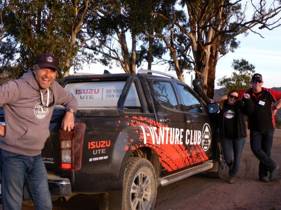 Isuzu I-Venture Club driving experience