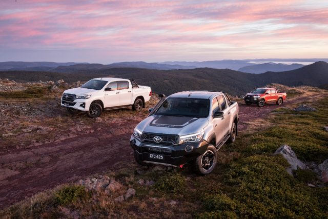 2018 Toyota Hilux Rugged, Rogue and Rugged X