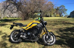 2018 Yamaha XSR900 (RD 900 LS special edition)