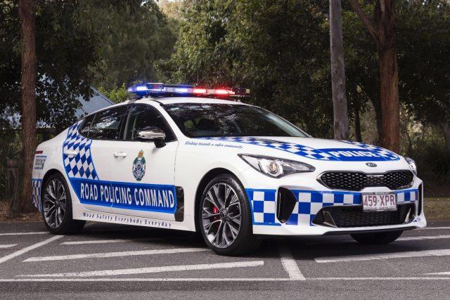 Queensland Police choose Kia Stinger