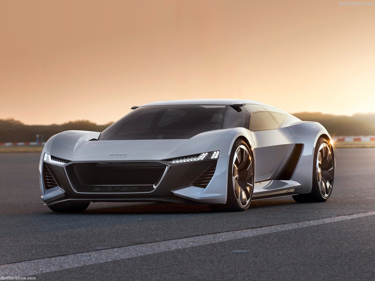 Audi PB18 e-tron concept vehicle