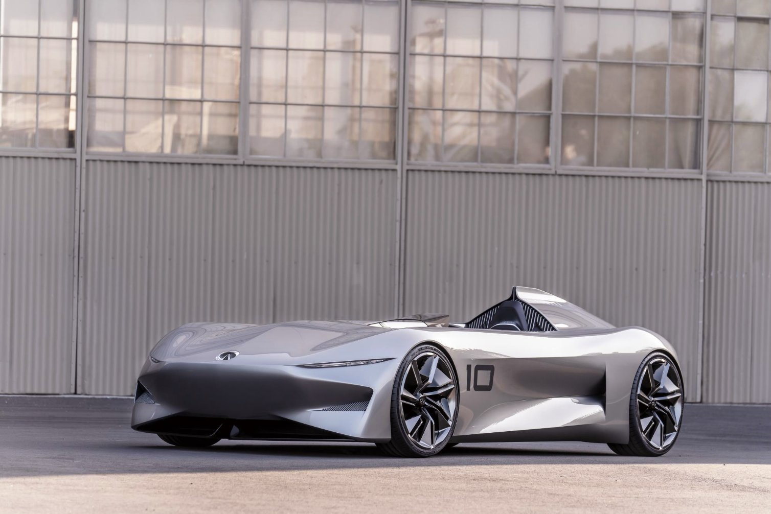 Infiniti Prototype 10 concept vehicle