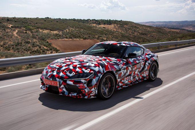 2019 Toyota Supra (A90)