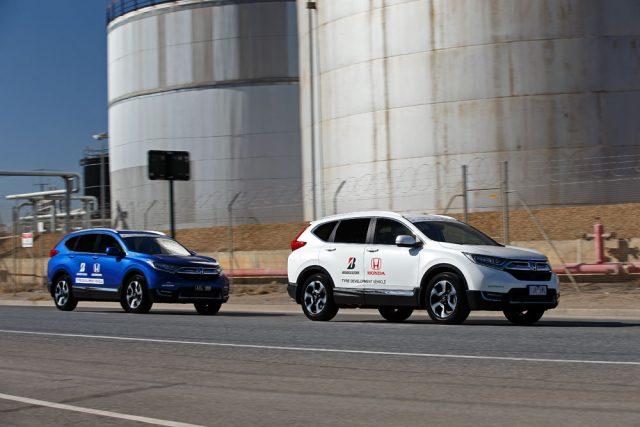 Honda and Bridgestone work together to save fuel