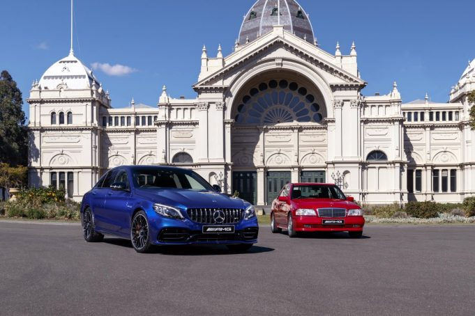 Mercedes-Benz celebrates 25 years of the C-Class AMG