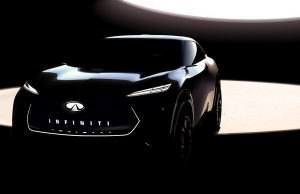INFINITI teases new EV platform for Detroit