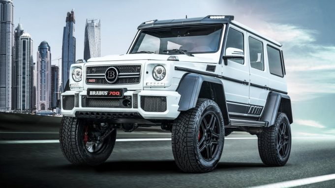 The final edition Brabus 700 4x4