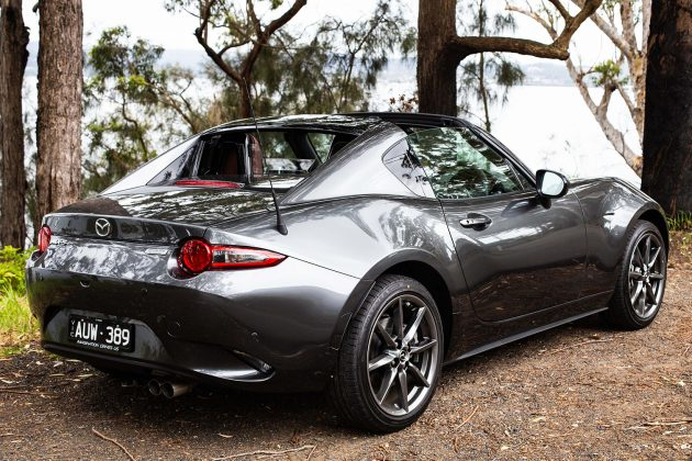2019 Mazda MX-5 RF GT Black Roof
