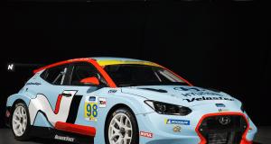 2019 Hyundai Veloster N TCR race car