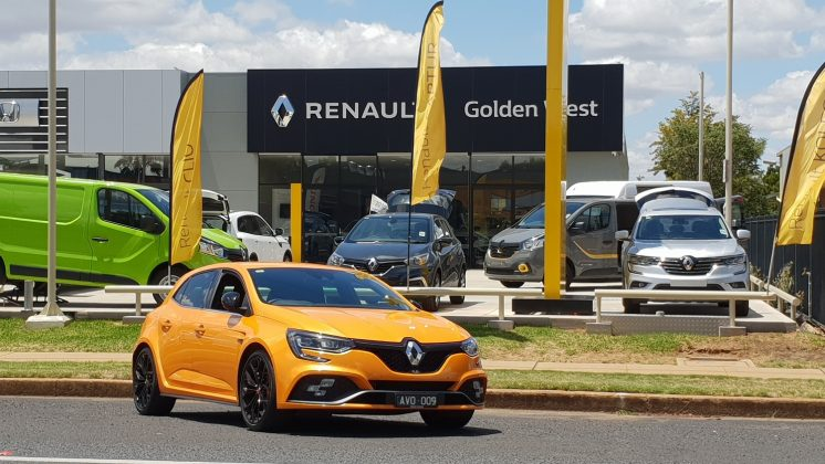 2019 Renault Megane RS 280 Cup Chassis