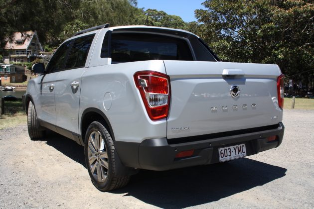 2019 SsangYong Musso 4x4