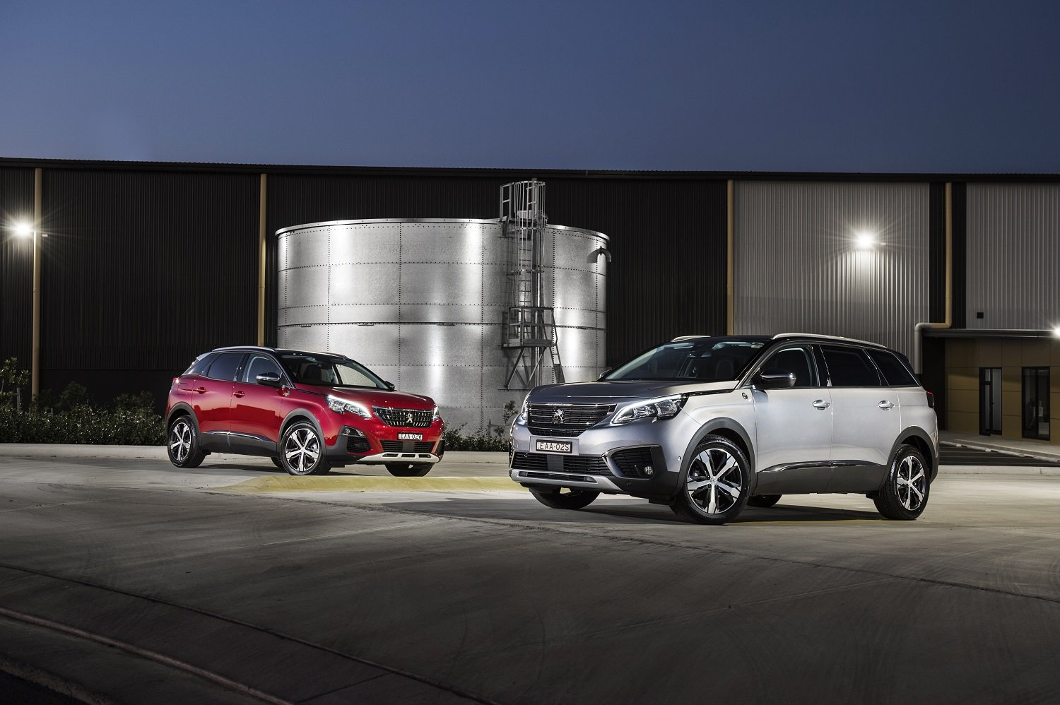 2019 Peugeot 3008 and 5008 Crossway Edition