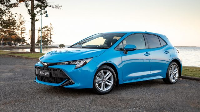 2019 Toyota Corolla SX hatch (petrol)