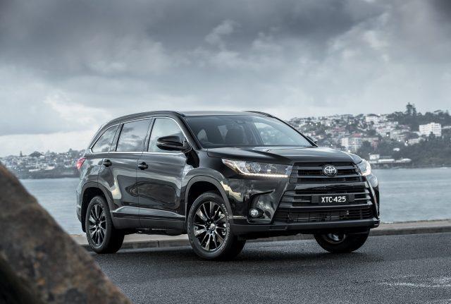 2019 Toyota Kluger Black Edition