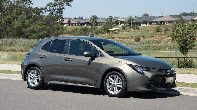 2019 Toyota Corolla Ascent Sport hatch (petrol)