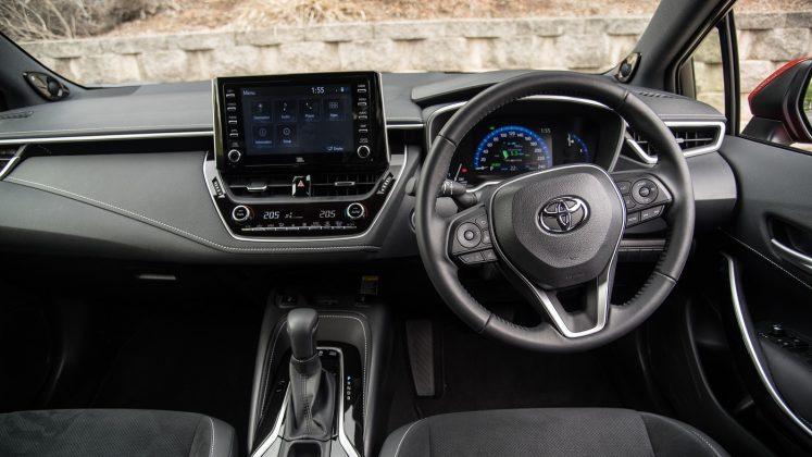 2019 Toyota Corolla ZR hatch (hybrid)