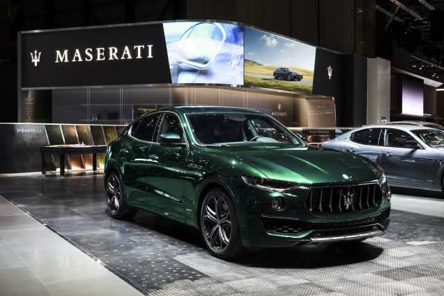 Customised Maserati Levante - Allegra Antinori edition