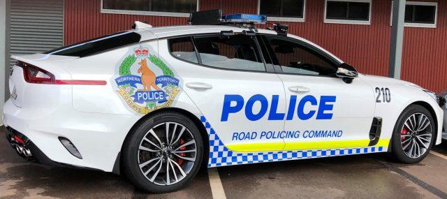 Kia Stinger joins Northern Territory Police