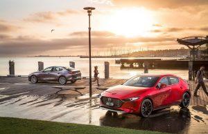 2019 Mazda3 hatch and sedan