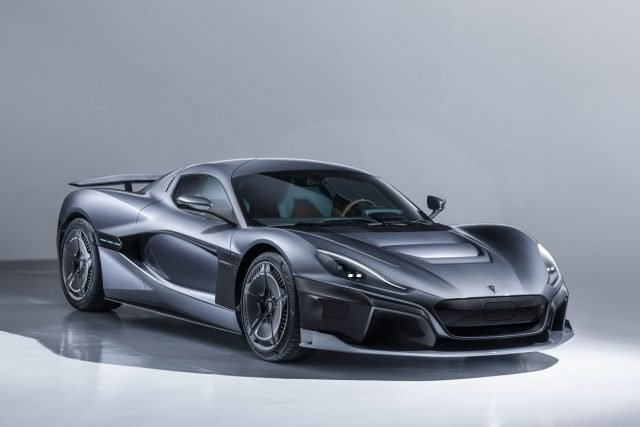 The Rimac C_Two electric hyper car