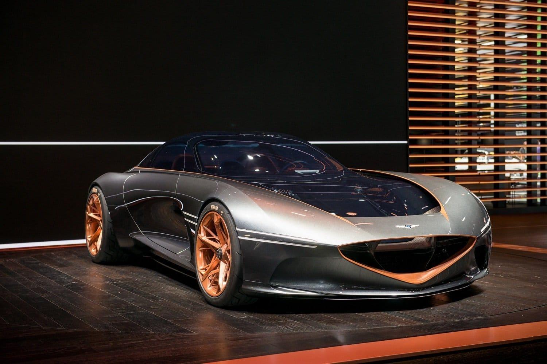 Genesis Essentia electric concept car