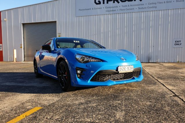 2019 Toyota 86 GTS Performance (Apollo Blue)