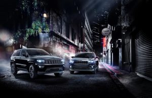2019 Jeep Grand Cherokee and Cherokee Night Eagle special editions