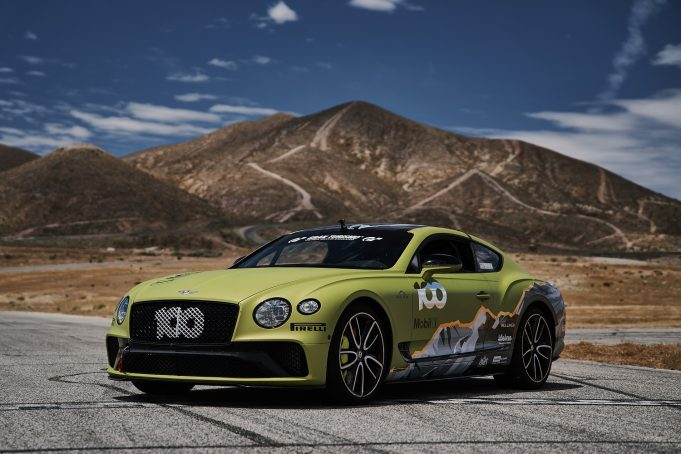 Bentley Continental GT ready for Pikes Peak