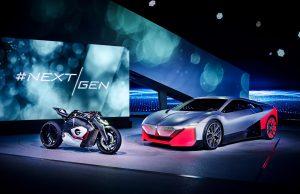 BMW NextGen Vision M Next and Vision DC Roadster