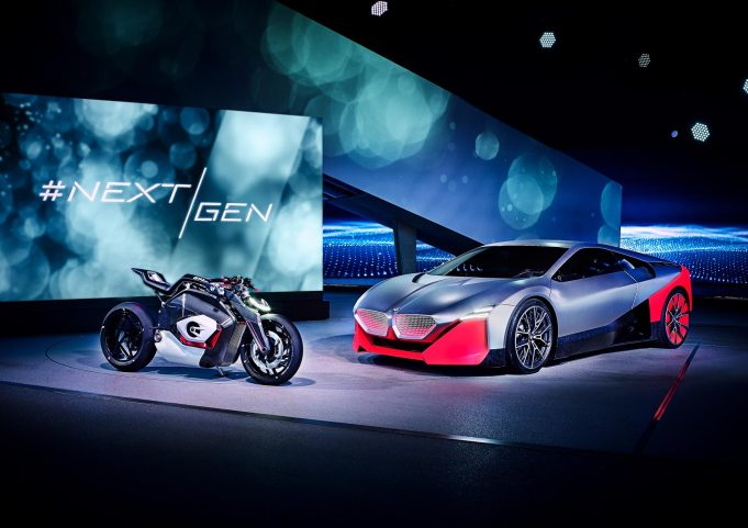 BMW NextGen Vision M Next and Vision DC Roadster