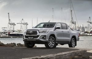 Still holding the number one spot for sales... the Toyota HiLux