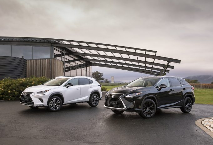 Special edition Lexus NX and RX