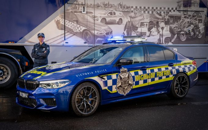 BMW M5 Competition joins VIctoria Police