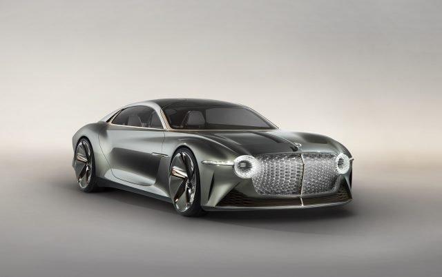 The Bentley EXP 100 GT concept car