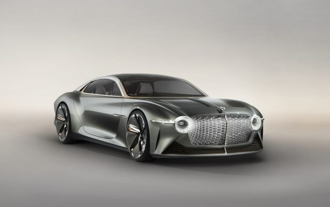 The Bentley EXP 100 GT concept car