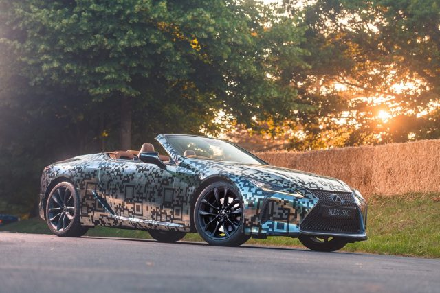 Lexus LC Convertible headed for production