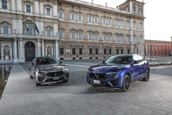 Maserati Levante GTS and Trofeo